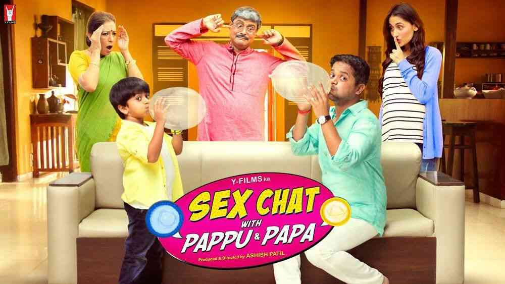 Sex chat with pappu and papa poster