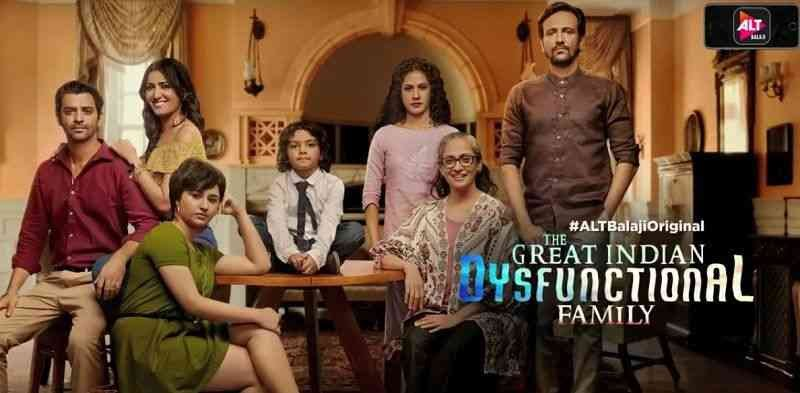 Great Indian Dysfunctional Family poster